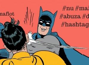 stop abuzului de hashtag smarketing